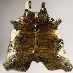 One of my favorite discoveries at WorldMarket.com: Brazilian Cowhide Rug