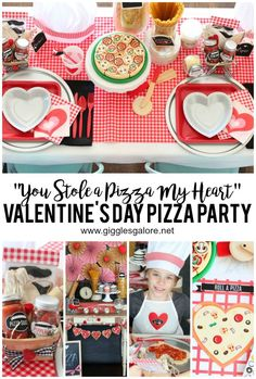 Im channeling my uber creative mom and serving up lots of love with a fun family-friendly You Stole a Pizza My Heart Valentines Day Pizza Party! Valentines Day Pizza, Valentines For Kids, Valentine Day Crafts, Happy Valentines Day, Valentine Party, Easter Party, Valentine Ideas, Vintage Valentines, Valentine Decorations
