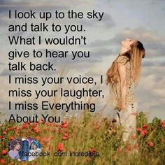 Some days, I miss you so much it hurts...