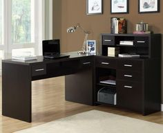 small home office designs with corner furniture