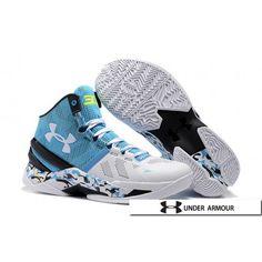 694b2ab8f9a UA Curry 2 Shoes - 2016 New Under Armour UA Curry 2 Camo Blue Yellow White  Black Basketball Shoes. Nike Shoes For SaleBuy ...