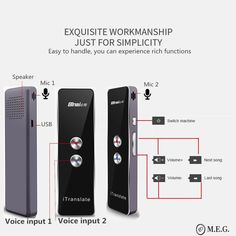 Love to travel? Or do you regularly interact with people speaking different languages? Get this sleek, compact voice translator now! Has more than 30 languages.Compatible with Android and iOs. Different Languages, Travel Gadgets, Cool Toys, The Voice, Songs, Love, Compact, People, Android
