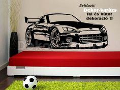 #sportautó #car #falmatrica #faltetoválás Toddler Bed, Furniture, Home Decor, Child Bed, Decoration Home, Room Decor, Home Furnishings, Arredamento, Interior Decorating