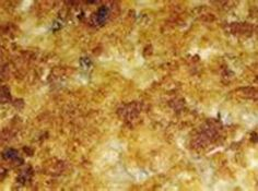 My Mom used to make this dish for us as a special treat during the Holidays. I still do for my family. Enjoy!!!!!!!!!!!!!!! Cheesy Hashbrown Casserole, Cheesy Hashbrowns, Hash Brown Casserole, Oyster Casserole Recipe, Casserole Dishes, Casserole Recipes, Mini Quiches, Sushi Recipes, Cooking Recipes