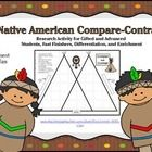 FREEBIE! Increase critical thinking in your social studies and language arts curriculum! Your students' higher-order thinking skills will blossom as they research their choice of various Native American Tribes to create a teepee graphic organizer. One of 8 activities in my Native American menu packet!