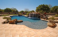 Arizona Pool Design, Award Winners - California Pools and Spas