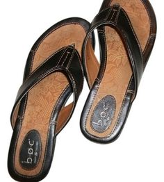 B.O.C. born conceptions Concepts Thong Sandal brown Flats