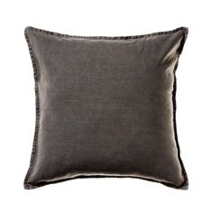 Home Republic Vintage Washed Linen Cushion Charcoal, cushions, cushion covers.