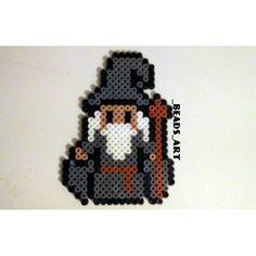 Small Gandalf beadswork