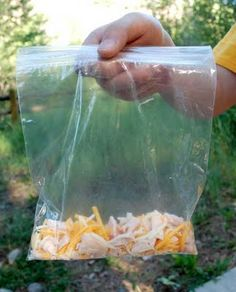 The Art of Camp Cooking - Breakfast  Omelet in a bag
