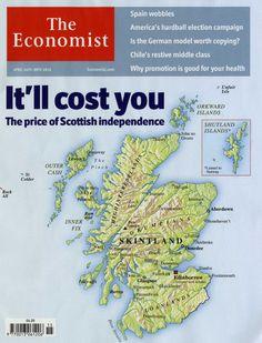 MapCarte 261/365: Skintland by The Economist, 2012