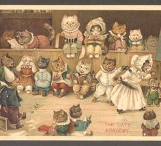 THE CATS ACADEMY Louis  Wain
