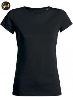 Bio Shirt basic Frauen schwarz