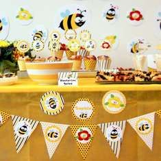 Bumble Bee Birthday Party - Bumble Bees