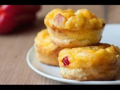 Bacon & Egg Breakfast Muffins - Skinny Ms.