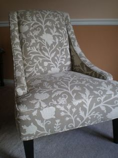 Seattle: Tan and Cream accent chair $450 - http://furnishlyst.com/listings/1046919