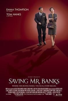 Another Monday tea time, another free film preview from Virgin Media. This time it was Saving Mr Banks, a Disney flick that chronicles the f...