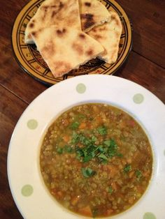 Algerian lentil soup (Chorba Adas) - waff life photos and shared Algerian Recipes, Algerian Food, Lentil Soup Recipes, Work Meals, Ramadan Recipes, Cooking Recipes, Healthy Recipes, Middle Eastern Recipes, Arabic Food
