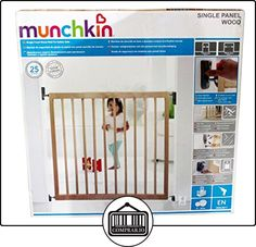 Munchkin Single Panel - Barrera de seguridad de madera  ✿ Seguridad para tu bebé - (Protege a tus hijos) ✿ ▬► Ver oferta: http://comprar.io/goto/B00QVKOGT4