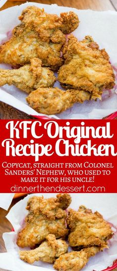 KFC Original Recipe Chicken decoded by a food reporter and republished with all 11 herbs and spices to make picture perfect KFC chicken at home! chicken stirfry recipes;chicken airfryer recipes;chicken zoodle recipes;chicken instapot recipes;chicken fettucini recipes;chicken delish recipes;chicken casserole recipes;chicken tagine recipes;chicken chicken recipes;weightloss chicken recipes;instapot chicken recipes;italian chicken recipes;simple chicken recipes;lchf chicken recipes;heathl...