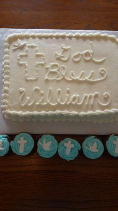 Baptism cake. I need to fix the e.