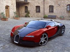 Bugatti - my wife's favorite car...after her '07 Nissan Murano!