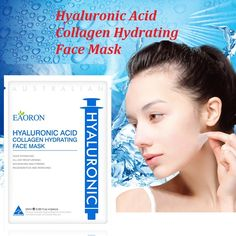 29.93$  Buy here - http://ali0or.shopchina.info/1/go.php?t=32782404128 - Eaoron Hyaluronic Acid Collagen Hydrating Face Mask 25ml 0.85fl. oz *5PCS moisturizing mask Australia hottest product right now  #aliexpresschina
