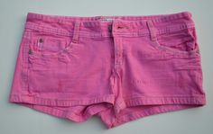 Hot Pink Jean Shorts #Swapdom