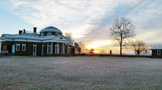 A cold morning sunrise caught in the wee hours today by one of our fabulous interns (and UVA superstar student) Alex Bryant.