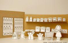 Super Cute Handmade Dioramas by Norma Andreu