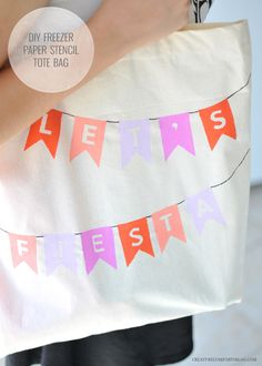 A Craft Party with DIY Tote Bags Inspired By Ford Fiesta