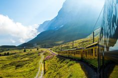 An article about train travel in Europe with the Eurail Pass. Are you ready for an epic train journey of wonders?