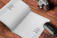Free A4 MockUp For Magazine, Catalogue, Brochure, Flyer and Resume