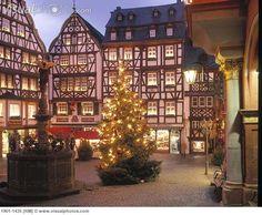 Bernkastel - Kues. In the Rhine Valley Germany