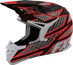 FXR Racing - Snowmobile Gear - X-1 Helmet - Black/Red