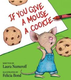 Tuesday, August 18, 2015. Relating the cycle of requests a mouse is likely to make after you give him a cookie takes the reader through a young child's day.