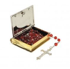 """Religious Women's Our Lady of Guadalupe Rosary Box. Material: Zinc Alloy and Epoxy. Size: 2"""" W X 2 1/2"""" H X 1/2"""" Deep. AT001 http://www.amazon.com/dp/B0117TZFIE/ref=cm_sw_r_pi_dp_ZIvcwb123S39V"""