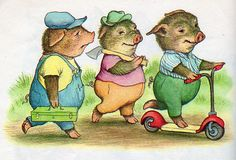 three pigs - illustrated by garth williams