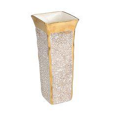 174.00$  Buy here - http://vijfb.justgood.pw/vig/item.php?t=n94ert29452 - Michael Wainwright Tempio Luna Gold Square Vase 174.00$