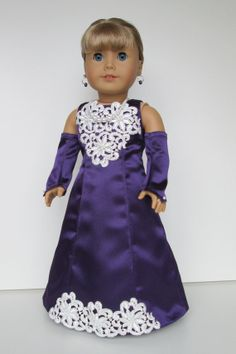 American girl doll clothes for Christmas Party by AtelierTamieNY, $255.00