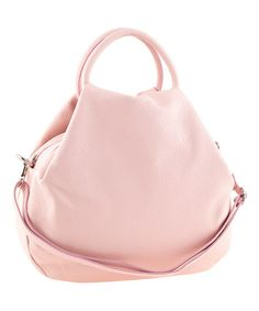 Another great find on #zulily! Rose Teardrop Leather Tote by Tina Panicucci #zulilyfinds