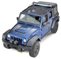 Rugged Ridge Full Eclipse Sun Shade for Jeep Wrangler Unlimited JK 4 Door 2011 Jeep Wrangler, Jeep Wrangler Unlimited, Full Eclipse, Car Supplies, Vw Amarok, Badass Jeep, Rugged Ridge, Jeep Truck, Jeep Jeep