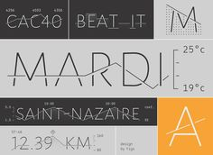 Typeface interweaves words and graphs    Datalegreya is a new typeface by Fig that lets you intertwine a graph into the words. Datalegreya can be used in all contexts where small space is available to synthetically…Tags: typography   http://flowingdata.com/2016/12/02/typeface-interweaves-words-and-graphs/