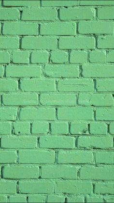 Green Brick. iPhone wallpaper