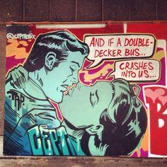 by CEPT (Ceptronix) - Detail new piece - For Urban Arts Weekend 2014, organised by Global Street Art - Southbank Center, London / 26-27 jul 2014  -  https://www.youtube.com/watch?v=n-cD4oLk_D0