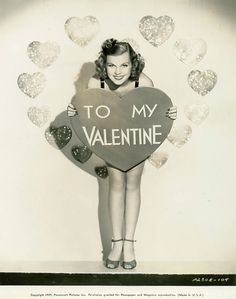 1930s Joyce Matthews Valentine Pinup – We Heart Vintage blog: retro fashion, cinema and photography