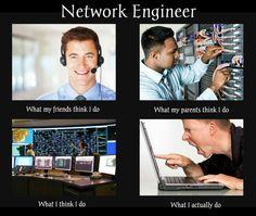Crazy network enginner