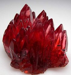 Crystals & Stones:  #Rhodochrosite, from N'Chwanning Mine, Kuruman, South Africa.