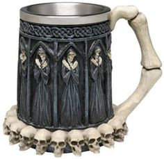 Grim Reaper Tankard Mug