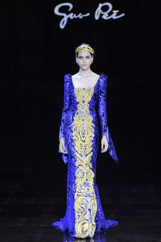 Guo Pei Fall 2016 Couture Fashion Show  http://www.vogue.com/fashion-shows/fall-2016-couture/guo-pei/slideshow/collection#21